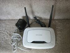 TP-Link TL-WR841N 300 Mbps 4-Port Wireless N Router w/Power Cord & Cable - Works
