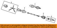 GM OEM Front Drive-CV Shaft Axle Assy 26078539