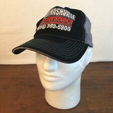 West Nashville Wrecker Service Black Cotton & Mesh Mens Snapback Cap Hat CH10