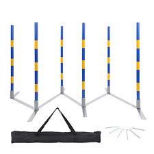 MiMu Dog Agility Training Equipment Dog Weaving Poles Competition Grade