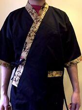 Chef Coat Jacket Sushi Restaurant Kimono Japaneses Uniform Unisex