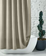 "Hotel Collection Waffle 100% Cotton 72"" x 72"" Shower Curtain - Beige"