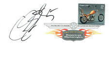 Colin EDWARDS Signed Autograph First Day Cover American Motorbike FDC COA AFTAL