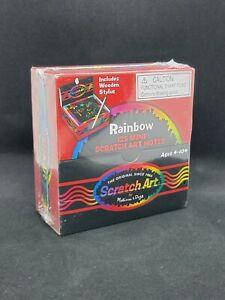 Melissa & Doug Rainbow Scratch Art Notes (Box of 125)