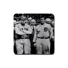 Ty Cobb and Babe Ruth drink coasters 4 pack D46