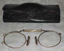 Vintage pair of antique gold filled pince nez