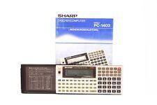 Sharp Taschencomputer PC-1403H Electronic Calculator 32KB + Bedienungsanleitung