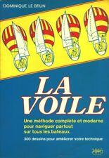 Livre  la voile Dominique Le Brun  book