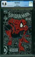 Spider-Man 1 Silver Variant CGC 9.8 White Pages McFarlane