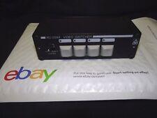 RDL RU-VSX4 4x1 BNC Video Switcher