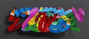 David Kracov - Making Love,  Metal Wall Sculpture, EU Based, Free Shipping