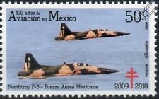 NORTHROP F5 / F-5 TIGER Aircraft Stamp (100 Years of Aviation in Mexico)