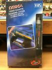 VCR Video Cleaner VHS Cassette Recorder Tape Head Cleaner System & Fluid Wet/Dry