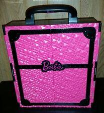 2011 Mattel Barbie Doll Black Fashionista Carrying Wardrobe Case Ultimate Closet
