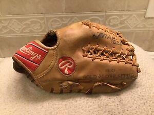 "Rawlings 12"" PRO-127CS  HOH Baseball Softball Glove Right Hand Throw Japan"