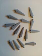 LEGO 64727 FLEXIBLE SPIKE 3.5L MEDIUM STONE GREY QTY x 15 BRAND NEW