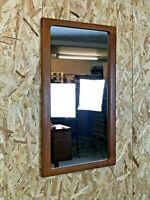 60er 70er Jahre Spiegel Wandspiegel Teak Mirror Silkeborg No. 248 Danish Design