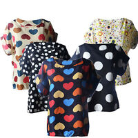Fashion Blouses Casual Flower T-Shirt Tops Tropical Chiffon Summer Women Blusas