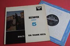 SXL 2124 ED1/ED3 WB Beethoven Symphony No.5 VPO Georg Solti DECCA STEREO LP
