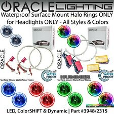 ORACLE Surface Mount Halos for Headlights for 92-06 Hummer H1 *All Colors