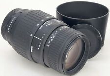 PENTAX AF Sigma 70-300mm 4-5.6 DL  Macro Super 1:2 + Hood ===Mint===