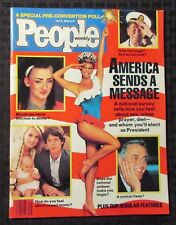 1984 July 16 PEOPLE Magazine FVF 7.0 Boy George / Christie Brinkley