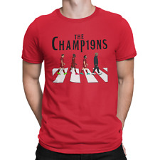 Liverpool Champions T Shirt Red
