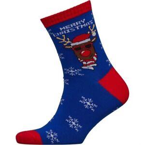 Mens Novelty Chritmas Gift Socks Xmas by FLUID 75% Soft Cotton UK 7-11