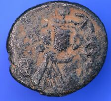 "Byzantine Empire Arab-Byzantine Æ Fals Coin ""M"" type 17mm *[18637]"