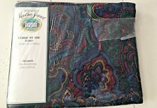 "Martha Stewart Fabric by the Yard Luxury Percale 3 Yds X 45"" Paisley Balmoral"