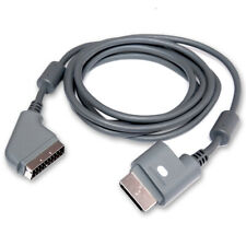 Cable SCART/AV + OPTICO Xbox 360 MICROSOFT ORIGINAL NUEVO