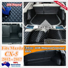 Custom Made Car Boot Cargo Mats Wheel Arches Cover Liner for Mazda CX5 12 - 17