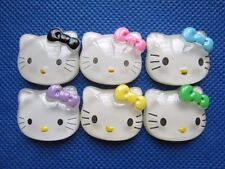 "30 Resin 1"" Hello Kitty Flatback w/Bow-6 Colors"