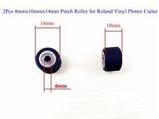 2pcs 4mmx10mmx14mm Pinch Roller For Roland Vinyl Plotter Cutter Us New