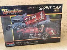 Monogram: Gambler Steve Butler Sprint Car 1:24 Scale Model Kit