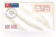 S.S. Mariposa, Honolulu Hawaii, Ship Airmail NAC Label , Meter  to New  Zealand