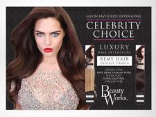 "Beauty Works Celebrity Choice 120g Remy Hair 14""-24"" Grade AAAA"