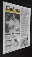 Revista Semanal Cinema Semana de La 17A 23 Siete 1986 N º 368 Buen Estado