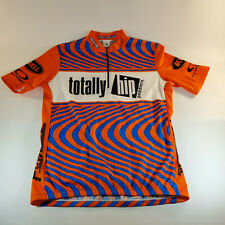 Sugoi Bicycle Racing Jersey 3 Pocket Totally Hip Peddlers XXL