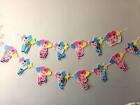 BABY SHOWER Happy Birthday Bunting Garland  Party Hanging Banner Décor FLAG