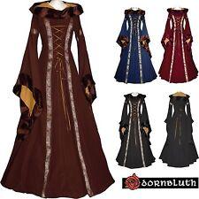 Original de moyen âge Renaissance robe chasuble Costume Sarah Léviathans