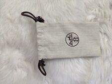 Authentic New HERMES Dustbag Drawstring 17*9cm Fit bracelet CDC Collier de chien