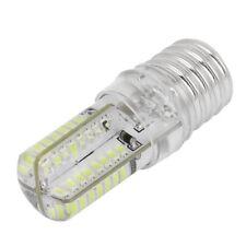 E17 Clavija 5W 64 LED Bombilla de lampara 3014 SMD Luz pura Blanco AC 110V- U3E7
