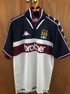 Manchester City 1997-98 away football shirt