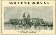 Publicité ancienne Enghien-Les-Bains le casino 1908 issue de magazine
