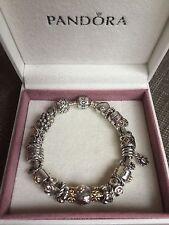 Genuine Pandora Bracelet With Charms 20cm long