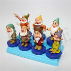 Lot de 7 Blanche-Neige SEPT NAINS 7 FIGURE caoutchouc Figurines de collection