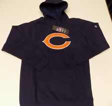 CHICAGO BEARS REEBOK PULLOVER HOODED SWEATSHIRT YOUTH SIZE MED (10-12)-BLUE 6b395ce58