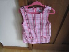 SONOMA LIFE-STYLE GIRL'S 3T PINK PLAID SLEEVELESS DRESS!