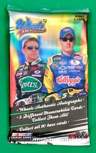 2005 Wheels American Thunder Nascar Racing Trading Cards Factory Sealed Pack